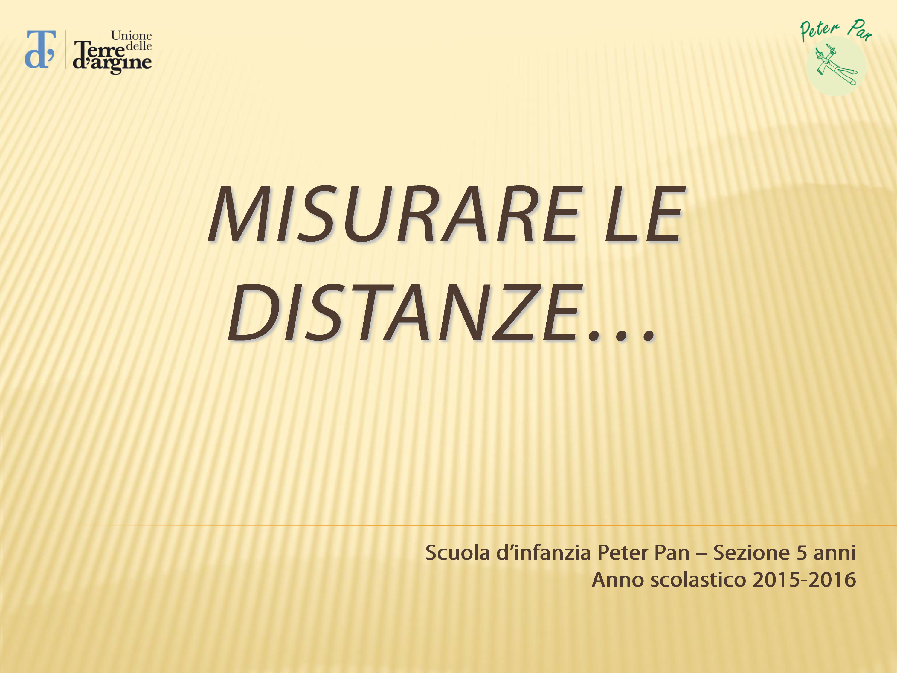 misurare le distanze